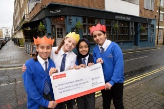 Local pub backs 'apprentice' competition for school kids